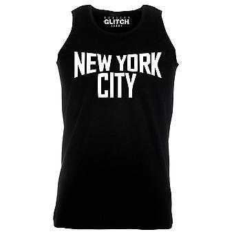 Reality glitch new york city mens vest