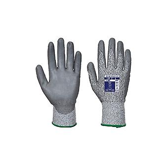 Portwest lr cut pu safey workwear palm glove a620