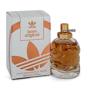 Adidas born original eau de parfum spray by adidas 549061 50 ml
