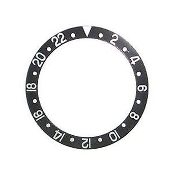 Bezel insert made by w&cp to fit rolex 315-16750-1 generic bezel insert