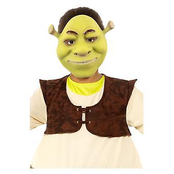 Kinder Shrek Gesicht Maske Fancy Kleid Zubehör