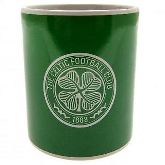 Celtic FC Crest Fade Design Mugg