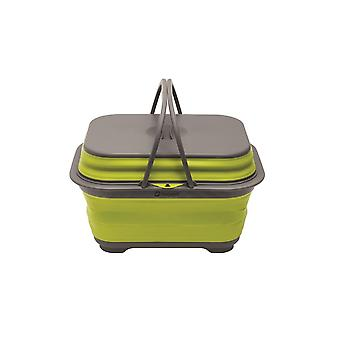 Outwell Collaps Washing Base With Handle & Lid Lime Green