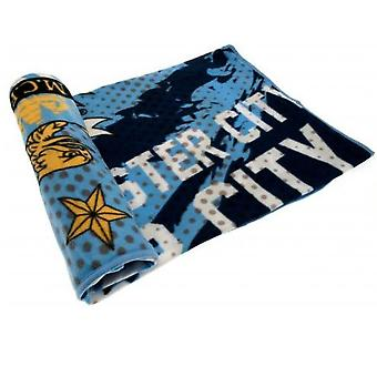 Manchester City FC Impact Fleece Blanket