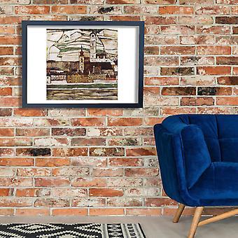 Egon Schiele - The Village Poster Print Giclee