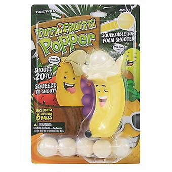 Hog Vilda Tutti Fruitti Banan Popper