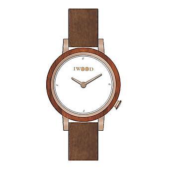 Iwood Real Wood Women's Watch IW18443002