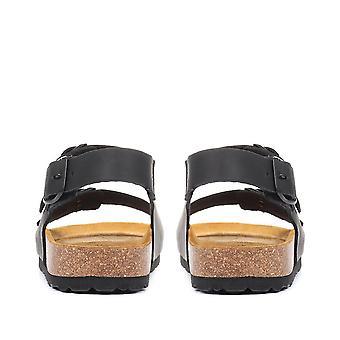 Jones Bootmaker Herre fuldt justerbar læder sandal