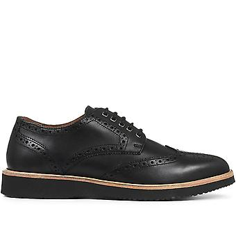 Jones Bootmaker Miesten Rento Nahka Derby Brogue