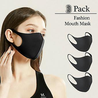 3-Pack waschbarer Oral Protection Gesichtsmaske Atemschutz