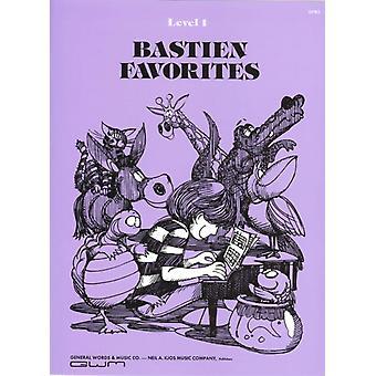 Bastien Favorites Level 1 by By composer Jane Bastien