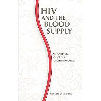 HIV and the Blood Supply - An Analysis of Crisis Decisionmaking by Com