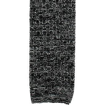 Michelsons van Londen Melange zijde gebreide stropdas - zwart