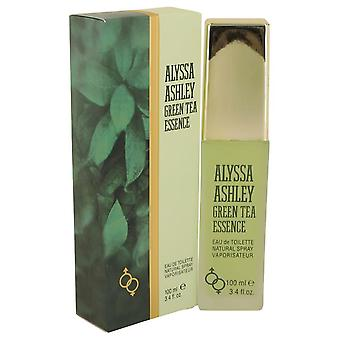 Alyssa Ashley Green Tea Essence Eau De Toilette Spray przez Alyssa Ashley 3,4 uncji Eau De Parfum Spray