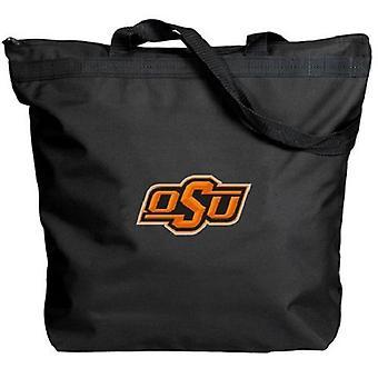 Oklahoma State Cowboys NCAA Zipper Tote Bag