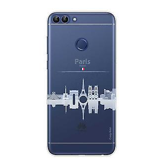 هال ل Huawei P الذكية 2018 المعالم الأثرية المرنة دي باريس