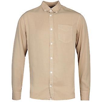 NN07 Levon 5969 Button-Down Beige Long Sleeve Shirt