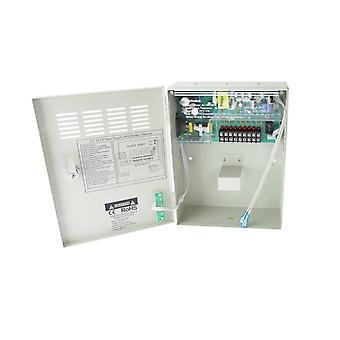 Jandei nätaggregat 220V-12Vdc 5A laddningsbatteri 9 skåputgångar