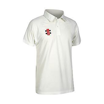 Gray Nicolls Matrix Short Sleeve Cricket Shirt