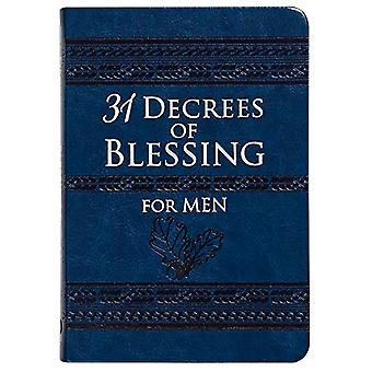 31 Decrees of Blessing for Men by Robert Hotchkin - 9781424559930 Book