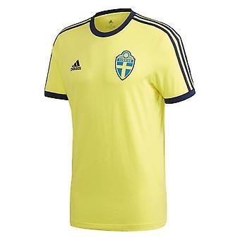 2020-2021 السويد 3S Tee (أصفر)