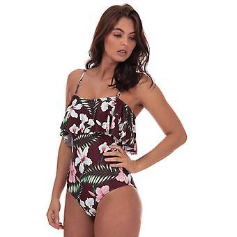 Women's Vero Moda Paradise Swimsuit in Rood