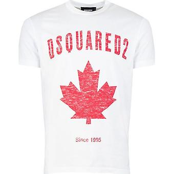 Dsquared2 Maple Leaf T-Shirt