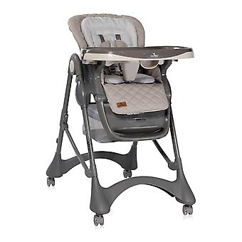 Lorelli Children's High Chair Appetito Wheels Brake Adjustable Height Foldable Straps