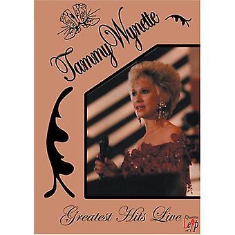 Tammy Wynette - Greatest Hits [DVD] USA import
