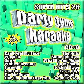 Party Tyme Karaoke - Ptk-Super Hits 26 [CD] USA import