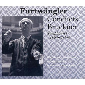 A. Bruckner - Furtw Ngler Conducts Bruckner Symphonies Nos. 4-9 [CD] USA import