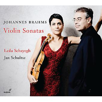 Brahms - Violin Sonatas [CD] USA import