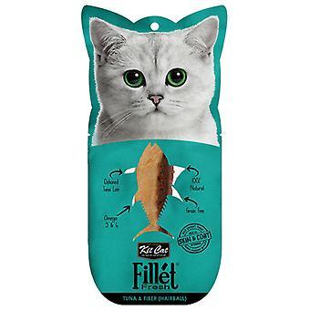 Kit Cat Filletfresh Hairball Atun y Fibra (Cats , Treats , Chewy & Softer Treats )