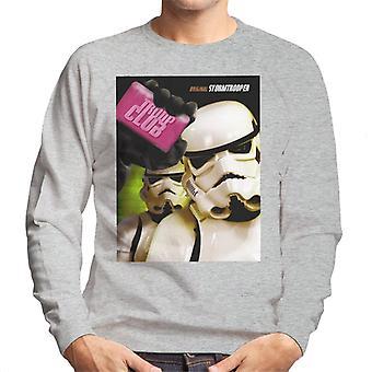 Original Stormtrooper Troop Club Parody Men's Sweatshirt