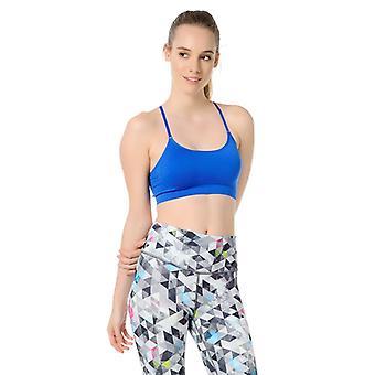 Jerf  Womens Sunbury Blue Sports Bra