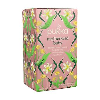 Motherkind Baby: Amning Infusion BIO 20 infusionspåsar