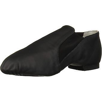 Bloch Dance Women's Elasta Bootie Leather and Elastic Split Sole Jazz Shoe