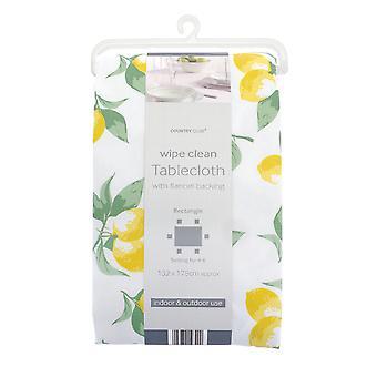 Country Club PVC Tablecloth, Lemon