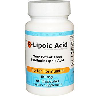 Advance Physician Formulas, R-Lipoic Acid, 50 mg, 60 Capsules