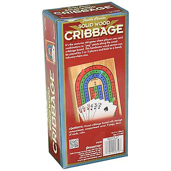 Games - Pressman Toy - Cribbage with Cards New 1810-06