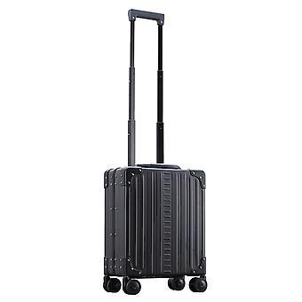 """ALEON Vertical Underseat Carry-On 16"""" Carro de equipaje de mano 4 ruedas, 32 cm, 15.8 L, Negro"""