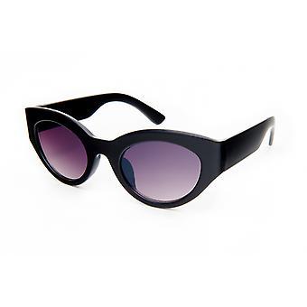 Gafas de sol Negro/violeta ovalado para mujer (20-069)