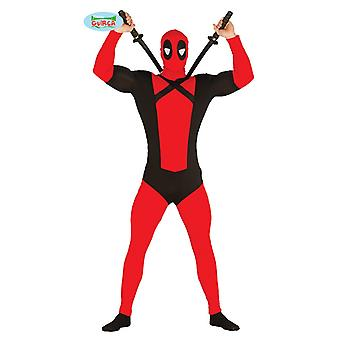 Traje de héroe libro cómico super héroe antihéroe traje de los hombres