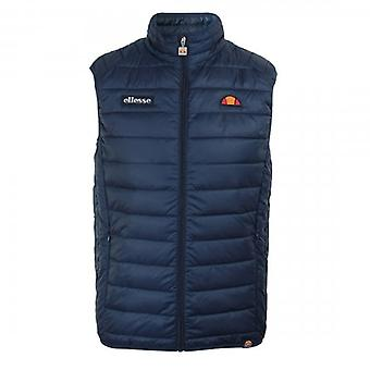 Ellesse Bardy Quilted Navy Puffer Gilet