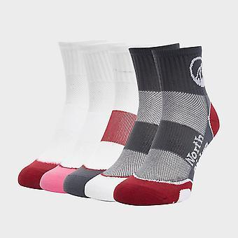 North Ridge Women's Road Running Socks (5 Pack) Multi