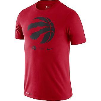 Nike Nba Toronto Raptors Dri-fit T-shirt Red