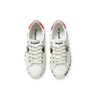 נעלי דציון מיקי מאוס לבן נעלי ספורט 20WSKP37