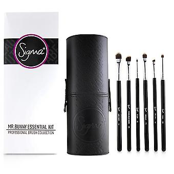 Sigma Beauty Mr. Bunny Essential Kit Professional Brush Collection - # Black 13pcs