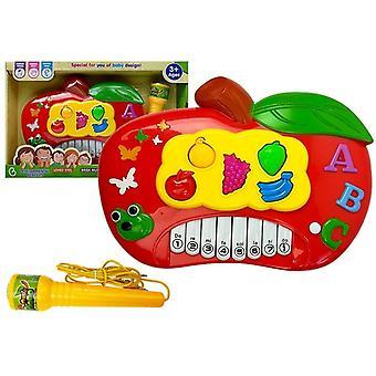 Leksakspiano - barnpiano med mikrofon