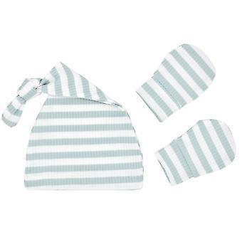طفل النوم كيس الوليد صبي شرنقة كيس Swaddle Muslin التفاف قبعة مجموعة مغلف